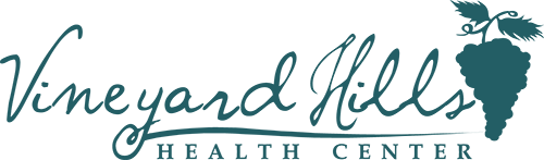 Vineyard Hills Health Center logo. Located in Templeton, CA.