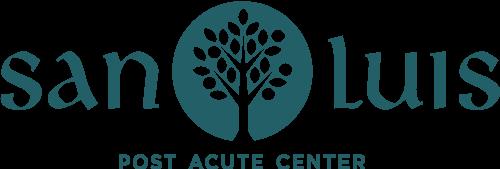 San Luis Post Acute Center Logo. Located in San Luis Obispo, CA.
